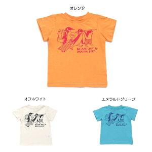 【セール40%OFF】【メール便OK】エフオーキッズ F.O.KIDS ペンギン旅行Tシャツ【男の子】【80-140】【r207479】