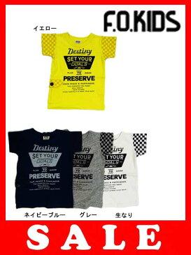 【セール50%OFF】[メール便OK]エフオーキッズ F.O.KIDS フラッグポケットTシャツ