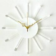 掛け時計 インテリア サンクロック ホワイト