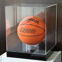 サインボールケース/バスケットボールケース/ディスプレイケース/展示ケース/幅33cm/奥行33cm/高さ36cm