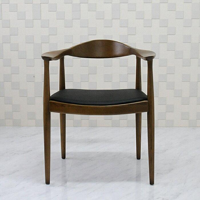 ザ・チェア ハンス・ウェグナー ウォールナット 新品 Hans.J.Wegner ダイニングチェア デザイナーズ 1人用 一人用 椅子 イス いす chair