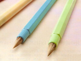 丸洗いOK!名前書、線描き、彩色用「小筆ISHIN」