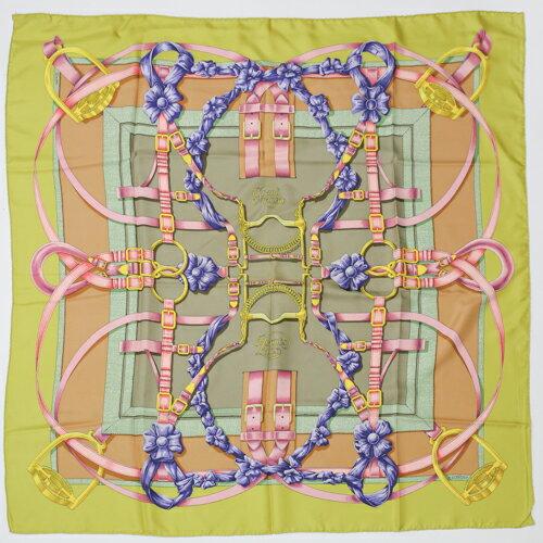 HERMES scarf 90 x 90 HERMES 90 Grand Manege p202...