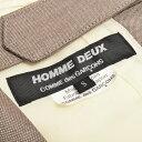 【新品同様】 コムデギャルソン オムドゥ COMME des GARCONS HOMME DEUX ベスト ジャケット 19SS ジレ ウール メンズ グレー S 【中古】p-eg19101338 3