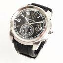 【美品】 カルティエ Cartier カリブル ドゥ カルティエ W7100014 メンズ 時計 腕 ...