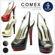 COMEX オープントゥサンダル コメックス クール プラットフォーム ハイヒール ストーム サンダル オープントゥ ミュール フォーマル 靴 レディス限定 新作 20代30代40代50代 ファッション 春
