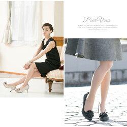 コサージュ&ラメヒールパンプスプラットフォームラメフォーマルコサージュハイヒールレディス限定レディースファッション靴小さいサイズ大きいサイズs013新作20代30代40代50代ファッション春
