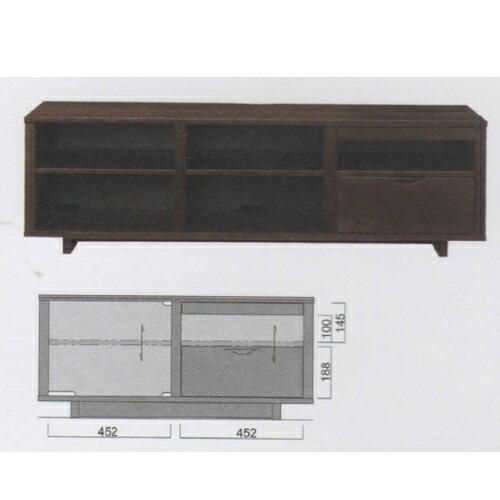 【イバタインテリア】 BIO テレビボード bitv-150fb ナラ:家具ルーム