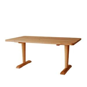 【飛騨産業】森のことばCURVAテーブル(W180)FR356WPナラ(節入り)OF色
