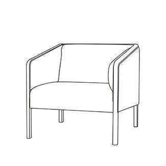 ポイントアップセール!!飛騨産業 Lin-Sofa ソファ1P cl11ab:家具ルーム