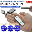 小型ボイスレコーダーICレコーダーコンパクト4GBメモリ内蔵【メール便】