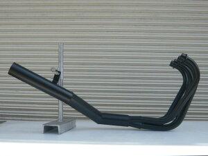 XJR400RH02ショート管70π新品マフラーブラック