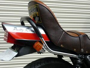 XJ400E/D極太ゴム巻きワイドタンデムバー