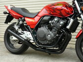 CB400SF REVO NC42 ショート管 70π 新品 マフラー ブラック