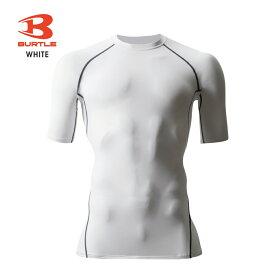 「BURTLE(バートル)」半袖冷感コンプレッションシャツ/4042/【2019WEX夏物インナー】