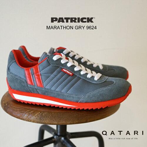 パトリック スニーカー マラソン グレー PATRICK MARATHON GRY 9624
