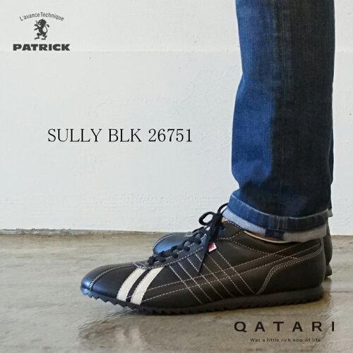 パトリック スニーカー シュリー ブラックPATRICK SULLY BLK 26751パトリック メン...