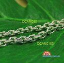 ダイヤモンドカットアンカーチェーン [Silver925/DC/Anchor80/50cm] LONOやイニシャル、大きめハワイア...
