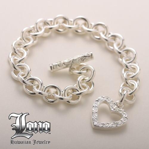 LONO Link Bracelet w/Heart Lockハートでつながる『ロノ』ブレスレット【送料無料】