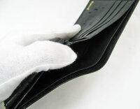 オーストリッチ財布無双札入れ日本製黒2【_包装】【_包装選択】【送料無料】