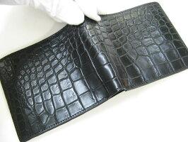 a6d2f7ff5194 クロコダイル 財布 ロンソン 2つ折り ジッポー 日本製:ライパラ ...