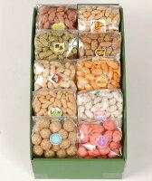 いろいろな味が楽しめる豆菓子セット十豆12個入り欧都香オリジナルギフト