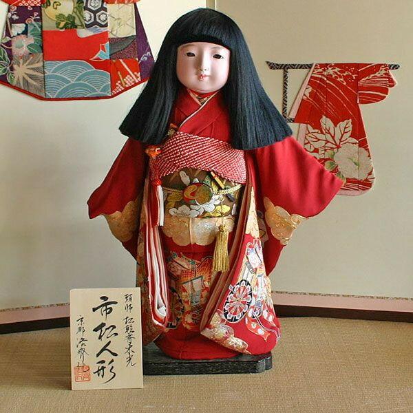 岩村人形『京製尺五市松人形』