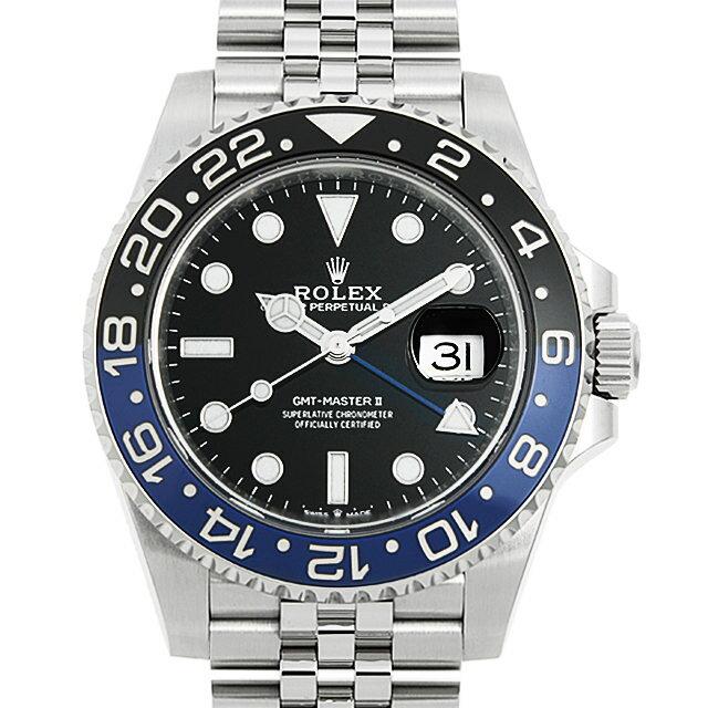腕時計, メンズ腕時計 60 GMTII 126710BLNR (0SZHROAU0001)