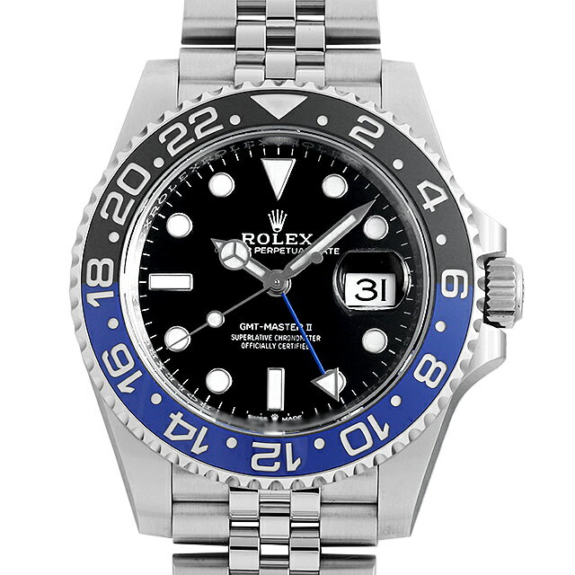 腕時計, メンズ腕時計 60 GMTII 126710BLNR (0FWNROAU0955)