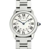カルティエ ロンド ソロ ドゥ カルティエ SM W6701004 レディース(0066CAAN0765)【新品】【腕時計】【送料無料】
