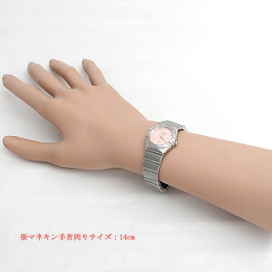 オメガコンステレーションブラッシュクォーツプリュム123.10.24.60.57.002レディース(006MOMAN0059)【新品】【腕時計】【送料無料】