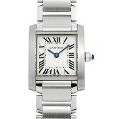 カルティエ タンクフランセーズ SM W51008Q3 レディース(0066CAAN0759)【新品】【腕時計】【送料無料】