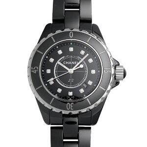 【48回払いまで無金利】シャネル J12 黒セラミック H1625 レディース(0064CHAN0183)【新品】【腕時計】【送料無料】【キャッシュレス5%還元】