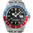 ロレックス GMTマスター 赤青ベゼル 14番 1675 ミラーダイアル メンズ(006XROAA0059)【アンティーク】【腕時計】【送料無料】