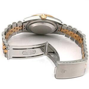 ロレックスデイトジャストS番16233ホワイト/ローマメンズ(008KROAU0016)【】【腕時計】【送料無料】