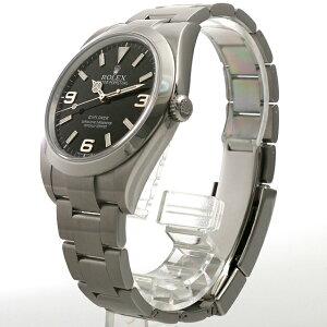 ロレックスエクスプローラーランダムシリアル214270メンズ(006XROAU0129)【中古】【腕時計】【送料無料】