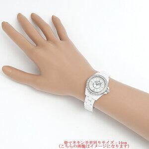シャネルJ128PダイヤベゼルダイヤH2572レディース(001HCHAU0004)【中古】【腕時計】【送料無料】