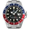 ロレックス GMTマスター 赤青ベゼル 55番 1675 メンズ(0BNIROAA0001)【アンティーク】【腕時計】【送料無料】