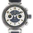 ルイヴィトン タンブール フライバック クロノヴォレ Q1028 メンズ(007ULVAU0016)【中古】【腕時計】【送料無料】