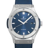【60回払いまで無金利】ウブロ クラシックフュージョン チタニウム ブルー 542.NX.7170.LR メンズ(002NHBAN0109)【新品】【腕時計】【送料無料】