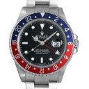 【48回払いまで無金利】ロレックス GMTマスターII 赤青ベゼル Y番 16710 メンズ(006XROAU0658)【中古】【腕時計】【送料無料】
