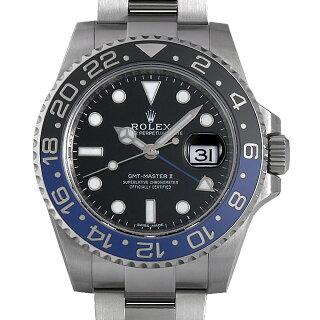 on sale 31152 6290d ロレックス GMTマスターII Ref.116710BLNR 青/黒ベゼル ...