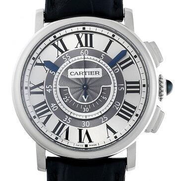 【48回払いまで無金利】SALE カルティエ ロトンド ドゥ カルティエ セントラルクロノグラフ W1556051 メンズ(0ITRCAAU0002)【中古】【腕時計】【送料無料】