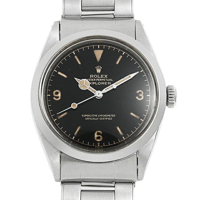 【最大3万円クーポン&ポイント2倍】SALE ロレックス エクスプローラーI 1016 MMダイアル 6ドット メンズ(006XROAA0115)【アンティーク】【腕時計】【送料無料】【48回払いまで無金利】