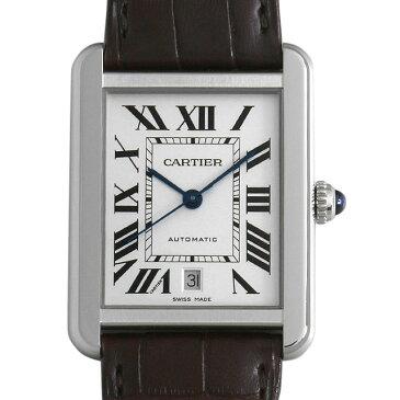 【48回払いまで無金利】カルティエ タンクソロ XL W5200027 メンズ(007UCAAU0155)【中古】【腕時計】【送料無料】