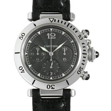 【48回払いまで無金利】カルティエ パシャ N950 クロノグラフ W3105155 メンズ(008WCAAU0149)【中古】【腕時計】【送料無料】