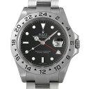 【48回払いまで無金利】ロレックス エクスプローラーII 16570 ブラック V番 メンズ(009VROAU0333)【中古】【腕時計】【送料無料】