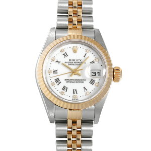 [No interest rate until 48 times payment] Rolex Datejust 10P Diamond 79173G White / Center Roma P No. Ladies (008WROAU0442) [Used] [Watch] [Free Shipping]
