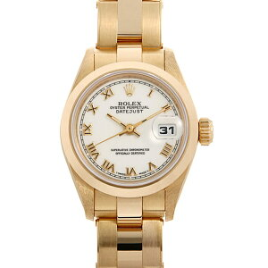 [No interest rate until 48 times payment] Rolex Datejust 69168 White Shantan / Rome W No. Ladies (0FWNROAU0213) [Used] [Watch] [Free Shipping]