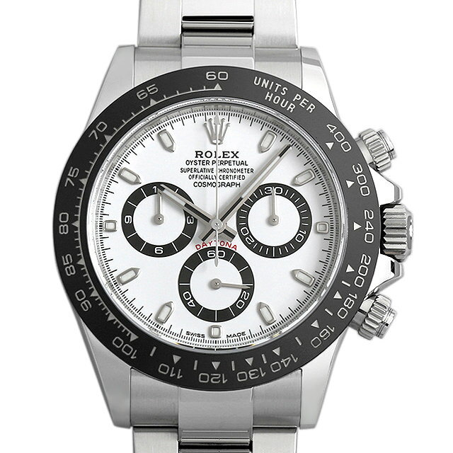 【最大3万円クーポン&ポイント2倍】SALE ロレックス コスモグラフ デイトナ 116500LN ホワイト メンズ(0WUDROAU0002)【中古】【腕時計】【送料無料】【48回払いまで無金利】